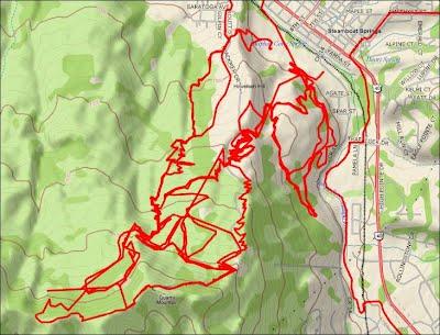 Emerald Mountain Trail System Mountain Biking Trails with descriptions rev